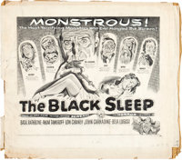 "The Black Sleep (United Artists, 1956). Concept Art (20.5"" X 23"")"