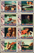 "Movie Posters:Science Fiction, War of the Colossal Beast (American International, 1958). LobbyCard Set of 8 (11"" X 14""). From the collection of Wade Wil...(Total: 8 Items)"