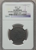 Large Cents: , 1811 1C -- Environmental Damage -- NGC Details. VG. S-287. NGCCensus: (4/46). PCGS Population (9/102). Mintage: 218,025. ...