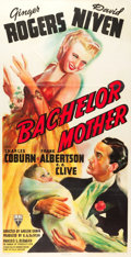 "Movie Posters:Comedy, Bachelor Mother (RKO, 1939). Three Sheet (40"" X 78"").. ..."