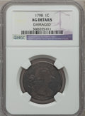 Large Cents: , 1798 1C First Hair Style -- Damaged -- NGC Details. AG. NGC Census:(7/188). PCGS Population (1/201). Mintage: 1,841,745. ...