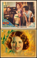 "Movie Posters:Comedy, The Wild Party (Paramount, 1929). Lobby Cards (2) (11"" X 14"").. ...(Total: 2 Items)"