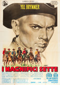 "Movie Posters:Western, The Magnificent Seven (United Artists, 1960). Italian 4 - Foglio (55"" X 77"").. ..."