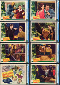 "Movie Posters:Horror, Abbott and Costello Meet Frankenstein (Universal International,1948). CGC Graded Lobby Card Set of 8 (11"" X 14"").. ..."