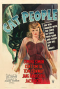 "Movie Posters:Horror, Cat People (RKO, 1942). One Sheet (27"" X 41"").. ..."