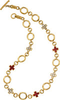 Estate Jewelry:Necklaces, Diamond, Ruby, Gold Necklace, Loree Rodkin. ...