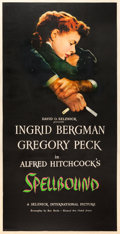 "Movie Posters:Hitchcock, Spellbound (United Artists, 1945). Three Sheet (41"" X 80"").. ...(Total: 2 Items)"