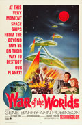 "Movie Posters:Science Fiction, The War of the Worlds (Paramount, R-1965). One Sheet (27"" X 41"")....."