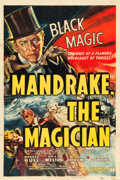 "Movie Posters:Serial, Mandrake the Magician (Columbia, 1939). Stock One Sheet (27"" X41"").. ..."