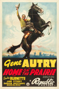 "Movie Posters:Western, Home on the Prairie (Republic, 1939). One Sheet (27"" X 41"").. ..."