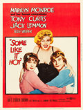 "Movie Posters:Comedy, Some Like It Hot (United Artists, 1959). Poster (30"" X 40"") StyleY.. ..."