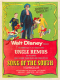 "Movie Posters:Animation, Song of the South (Buena Vista, R-1956). Posters (2) (30"" X 40"") Style Y and Z. From the collection of Wade Williams.. ... (Total: 2 Items)"