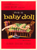 "Movie Posters:Drama, Baby Doll (Warner Brothers, 1956). Poster (30"" X 40"") Style Y.From the collection of Wade Williams.. ..."