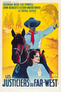 "Movie Posters:Serial, The Lone Ranger (Francinex, 1938). French Poster (31.25"" X 47"")....."