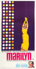 "Movie Posters:Documentary, Marilyn (20th Century Fox, 1963). Three Sheet (41"" X 78"").. ..."