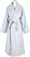 "Movie/TV Memorabilia:Costumes, ""Perfect Stranger"" - Halle Berry's Bath Robe. A powder blue terrycloth bath robe by Renfrew Holt, worn by the Oscar-winning ... (Total: 1 Item)"