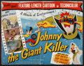 Movie Posters:Animated, Johnny the Giant Killer (Lippert Pictures, Inc., 1953). Pressbook(Multiple Pages). Animated. ...