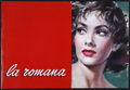 "Movie Posters:Drama, Woman of Rome (Minerva Film, 1955). Italian Press Kit (14 PagePressbook and 12 9.5"" X 14"" Stills). Drama. ..."
