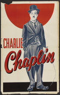 """Movie Posters:Comedy, Charlie Chaplin Personality Poster (Unknown, Late 1930s). One Sheet(27"""" X 41""""). Comedy...."""