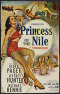 "Movie Posters:Adventure, Princess of the Nile (20th Century Fox, 1954). One Sheet (25"" X37""). Adventure. ..."