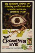 "Movie Posters:Science Fiction, The Crawling Eye (DCA, 1958). One Sheet (27"" X 41""). ScienceFiction. ..."