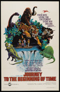 "Movie Posters:Adventure, Journey to the Beginning of Time (New Trends, 1966). One Sheet (27""X 41""). Adventure. ..."