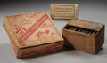 Antiques:Decorative Americana, Lot of Three Cigar Boxes with Cigars.... (Total: 3 Items)