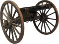 Military & Patriotic:Civil War, Civil War New Jersey Marked 3 Ordnance Rifle on Period Carriage.... (Total: 7 Items)