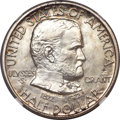 Commemorative Silver, 1922 50C Grant With Star MS65 NGC....