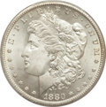 Morgan Dollars, 1880-CC $1 MS66+ PCGS. CAC....