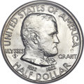 Commemorative Silver, 1922 50C Grant With Star MS64 NGC. CAC....