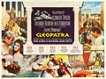 "Movie Posters:Historical Drama, Cleopatra (20th Century Fox, 1963). British Quad (30"" X 40"").. ..."