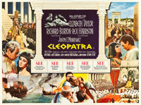"Cleopatra (20th Century Fox, 1963). British Quad (30"" X 40"")"