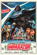 """Movie Posters:Science Fiction, The Empire Strikes Back (20th Century Fox, 1980). Turkish One Sheet(27"""" X 39.5"""").. ..."""
