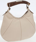 Luxury Accessories:Bags, Yves Saint Laurent Beige Leather Small Mombasa Bag by Tom Ford. ...