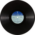 "Music Memorabilia:Recordings, Elvis Presley ""G. I. Blues""/ ""Doin' the Best That I Can"" Acetate(Electro-Vox, 1960)...."