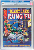 Magazines:Superhero, The Deadly Hands of Kung Fu #10 (Marvel, 1975) CGC NM+ 9.6 Whitepages....
