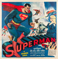 "Movie Posters:Serial, Superman (Columbia, 1948). Six Sheet (81"" X 81"").. ..."