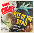 "Movie Posters:Horror, Isle of the Dead (RKO, 1945). Six Sheet (81"" X 81"").. ..."