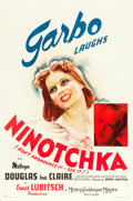 "Movie Posters:Comedy, Ninotchka (MGM, 1939). One Sheet (27"" X 41"") Style D.. ..."