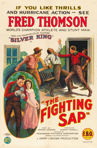 "The Fighting Sap (FBO, 1924). One Sheet (27"" X 41"")"