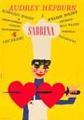 "Movie Posters:Romance, Sabrina (CWF, 1967). Polish One Sheet (23"" X 33"").. ..."