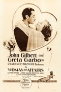 "Movie Posters:Drama, A Woman of Affairs (MGM, 1928). Rotogravure One Sheet (27"" X 41"")....."