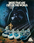 "Movie Posters:Science Fiction, Star Wars (Stride Rite, 1982). Advertising Poster (22"" X 28"").From the collection of the late John L. Williams, notedSta..."