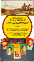 "Movie Posters:Western, The Searchers (Warner Brothers, 1956). Standee (32"" X 57.5"").. ..."