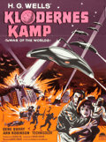 "Movie Posters:Science Fiction, The War of the Worlds (Paramount, 1954). Danish One Sheet (24.25"" X33"").. ..."