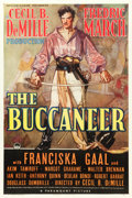 "Movie Posters:Adventure, The Buccaneer (Paramount, 1938). One Sheet (27"" X 41"") Style B....."