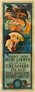 "Movie Posters:Adventure, Treasure Island (MGM, 1934). Insert (14"" X 36"").. ..."