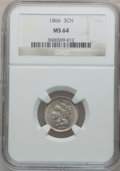 Three Cent Nickels: , 1866 3CN MS64 NGC. NGC Census: (210/121). PCGS Population (197/93).Mintage: 4,801,000. Numismedia Wsl. Price for problem f...
