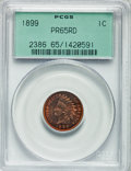 Proof Indian Cents, 1899 1C PR65 Red PCGS....